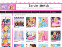 Flash Barbie játékok